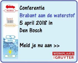 Conferentie 'Brabant aan de waterstof'