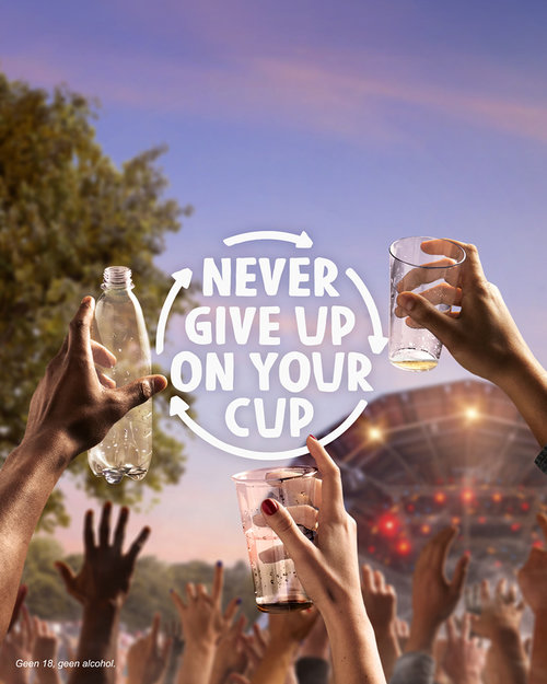 'Never Give Up On Your Cup'
