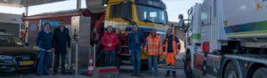 Eerste CNG-tanklocatie Lisse officieel geopend