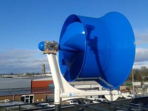De Blauwe Molen, de kleine windmolen