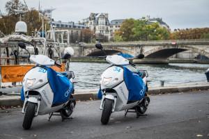 Parijs deelt nu ook elektrische scooters