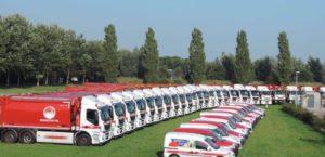 Omrin laat auto's rijden op zelf geproduceerd groengas