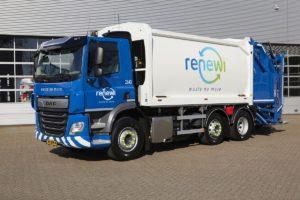 DAF blijft van groot belang voor Renewi in verduurzaming wagenpark