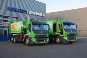 Eerste Volvo FE CNG huisvuil-inzamelingstrucks voor Dar; duurzaam op groengas