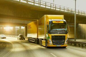 DHL Freight en Volvo Trucks bundelen krachten voor fossielvrij transport over langere afstanden