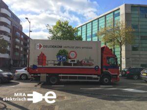 Slim laadplein in Duivendrecht voor elektrische trucks en bestelbussen