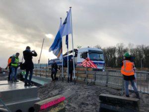 Eerste elektrische vrachtwagen in de bouw voor KWS