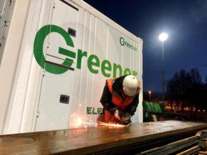 Met 30 nieuwe mobiele energieopslagsystemen van Alfen schaalt Greener op om 's werelds grootste emissievrije mobiele stroomleverancier te worden