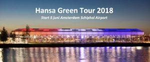 Energieke start Hansa Green Tour 2018 op Schiphol