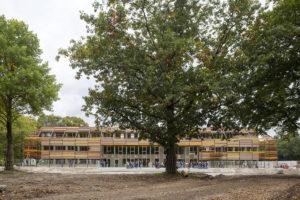 Groene 'designschool' Revius Lyceum midden in het bos