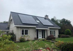 Energieneutrale woning met Panasonic zonnepanelen en warmtepomp