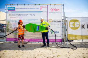 Bouw elektriciteitsverdeelstation op Strandeiland van start