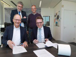 Groningen Seaports en Pipelife ontwikkelen infrastructuur groene waterstof