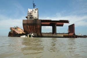 Vervuiling: geen Nederlandse schepen meer naar sloopstranden