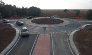 De eerste prefab rotonde van Nederland uitgevoerd door ketenpartners KWS, Leicon en RvB Groep