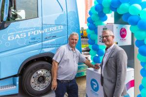 25e LNG-tankstation van Nederland geopend