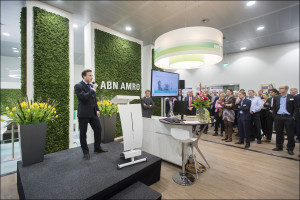 ABN AMRO opent eerste energieneutrale bankkantoor van Nederland