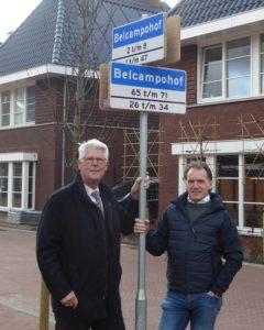 Proef met duurzame straatnaam- en verkeersborden van bamboe
