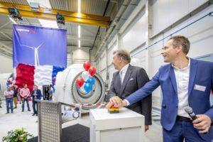 Nieuwe windturbinefabriek Lagerwey officieel geopend