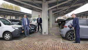 Dronten haalt energie uit parkeren: groen licht!