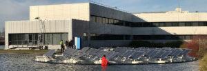 SABIC Bergen op Zoom eerste in Europa met drijvend zonnepaneleneiland