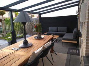 Hoe zit het met duurzaamheid bij terrasoverkappingen