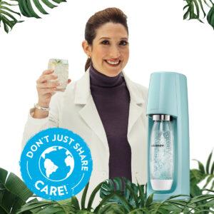 Dag van Aarde: merk SodaStream kondigt duurzaamheidsambities aan