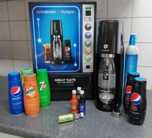 Maak zelf je favoriete PepsiCo-frisdrank met SodaStream