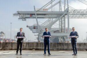 VDL krijgt order 77 automatisch geleide voertuigen Rotterdamse haven
