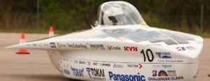 Technologie van Panasonic excelleert tijdens World Solar Challenge