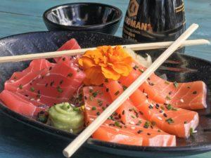 Jumbo Foodmarkt Groningen lanceert als eerste retailer ter wereld vegan sashimi en sushi