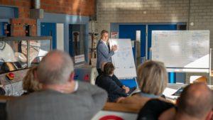 Studenten betrokken bij ontwerp Tiny House op waterstof in Hoogeveen