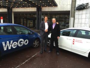 WeGo autodelen Gemeente Amsterdam mogelijk door facilitering