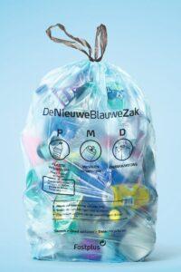 blauwe PMD-zak 1