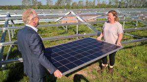 Eerste zonnepark voor Hoogheemraadschap Hollands Noorderkwartier