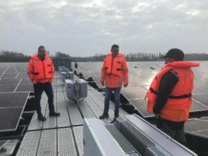 Drijvend zonnepark Beilen in gebruik genomen en geopend