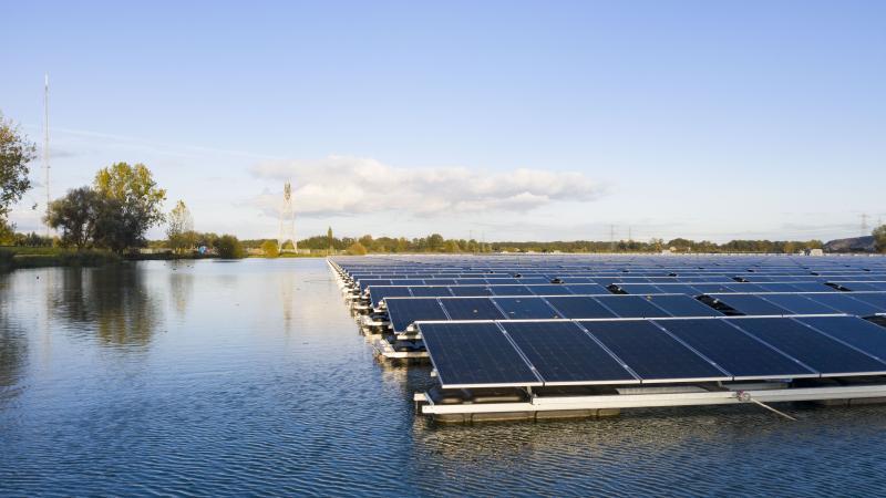 Drijvende zonnepark