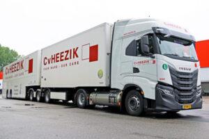 45 Nieuwe IVECO LNG-trucks voor C. van Heezik Transport