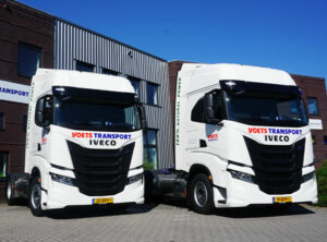 Voets Transport gaat groener de weg op met twee IVECO S-WAY NP's