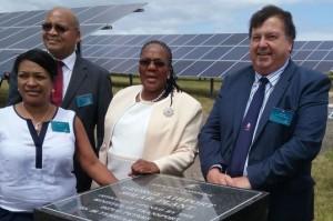 Zuid-Afrika opent eerste vliegveld op zonne-energie