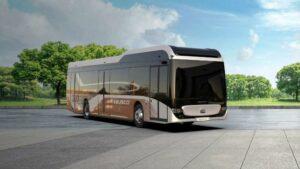 Lichtgewicht elektrische stadsbus winnaar Automotive Innovation Award