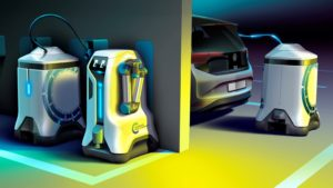 Volkswagen komt naar je toe met slimme laadrobots