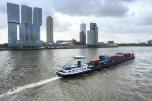 EU-subsidie voor waterstofproject binnenvaart