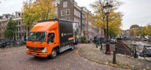 BMN Bouwmaterialen ziet FUSO eCanter als cruciale stap in emissievrij vervoer
