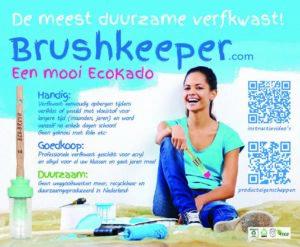 Ecobrush is de meest duurzame verfkwast die er bestaat