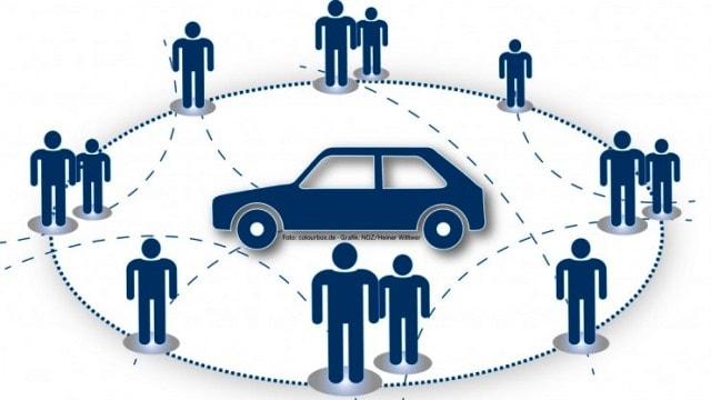 Afbeeldingsresultaat voor car sharing