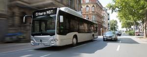 Mercedes-Benz levert twaalf Citaro NGT-bussen aan Augsburg