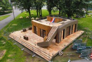 In vijf weken bouwt VIRTUe zelfvoorzienend huis, als onderdeel duurzame levensstijl