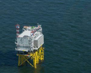 Offshore netaansluiting Borssele Alpha klaar voor windstroom Noordzee