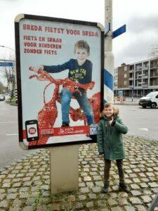 20 kinderen krijgen nieuwe fiets: 'Breda fietst voor Breda'